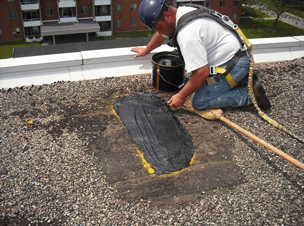 rooftop management repair